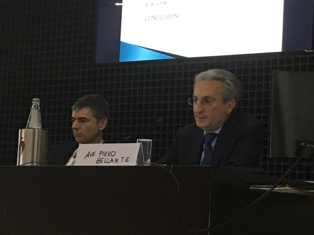 A Verona  i relatori della Camera, l'avv. Nicola Bardino e l'avv. Piero Bellante
