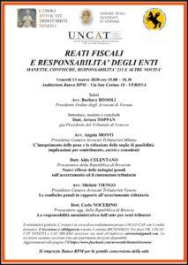 Reati fiscali e responsabilità degli enti @ Auditorium Banco BPM